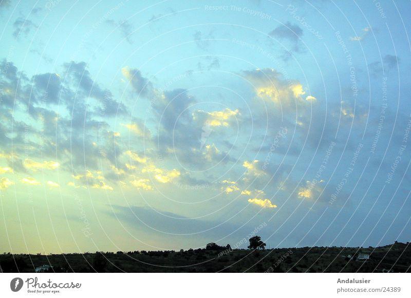 Licht über Andalusien Wolken Stimmung Sonne Abend Himmel Farbe