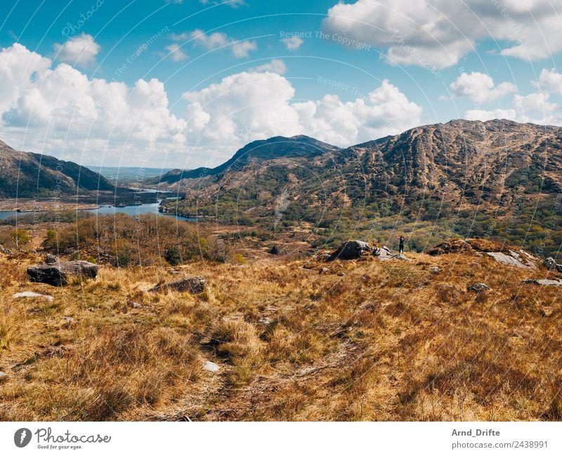 Ladies View - Irland Ferien & Urlaub & Reisen Tourismus Ausflug Ferne Sommerurlaub Sonne Mensch feminin Frau Erwachsene 1 Umwelt Landschaft Himmel Wolken