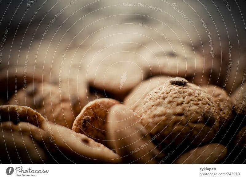 Cookie Mountains Ernährung Lebensmittel süß Hügel Frühstück Süßwaren Schokolade Keks Haufen Cornflakes