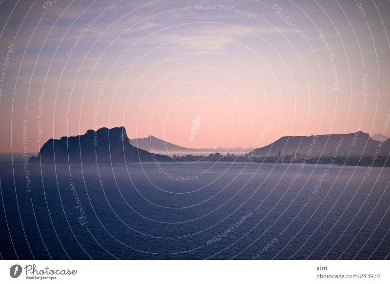 bergsee Natur Wasser Meer Sommer Ferien & Urlaub & Reisen ruhig Ferne Erholung Berge u. Gebirge Freiheit Landschaft Horizont Ausflug Tourismus Freizeit & Hobby Unendlichkeit