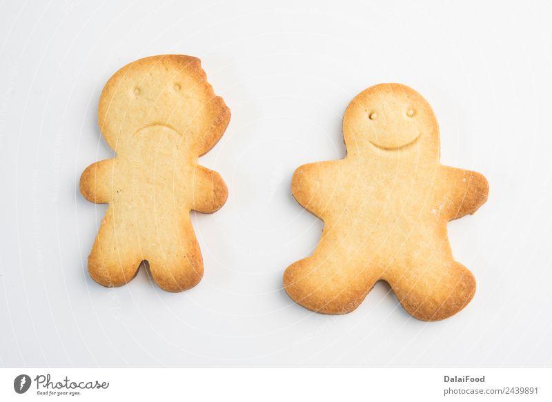 Ingwerbart-Cookies zur Weihnachtszeit Dessert Kräuter & Gewürze Winter Dekoration & Verzierung Feste & Feiern Weihnachten & Advent Mann Erwachsene Baum Ornament