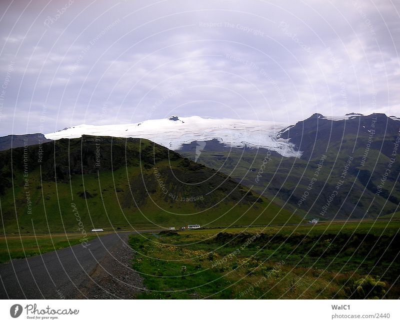 Vatnajökull Natur Wasser Schnee Eis Kraft Europa Energiewirtschaft Island Umweltschutz Gletscher Nationalpark unberührt Gletscher Vatnajökull