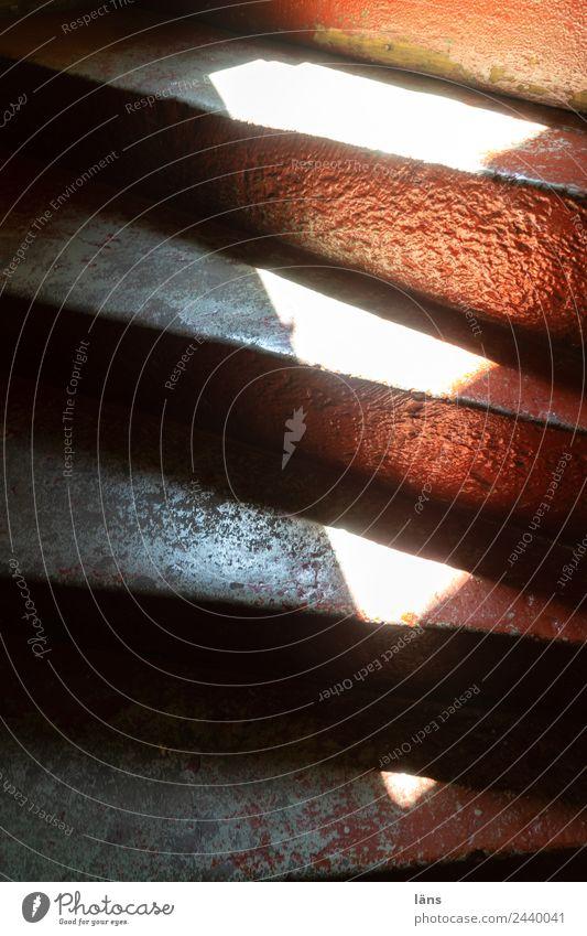 Treppe l UT Dresden Haus Licht Schatten Neigung aufwärts abwärts