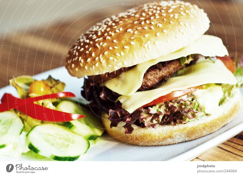 yummi liegen Lebensmittel Ernährung Lifestyle heiß Appetit & Hunger Lebensfreude lecker Brot Restaurant Teller Duft trendy Amerika Abendessen Handel