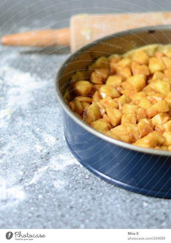 Apfelkuchen Lebensmittel Frucht Kochen & Garen & Backen süß lecker Appetit & Hunger Kuchen Dessert Backwaren Teigwaren Muttertag Mehl Kaffeetrinken Backform
