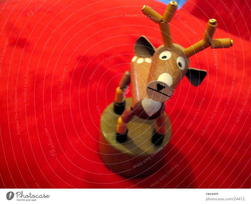 Hirsch rot Tier Traurigkeit braun Trauer Spielzeug Hirsche