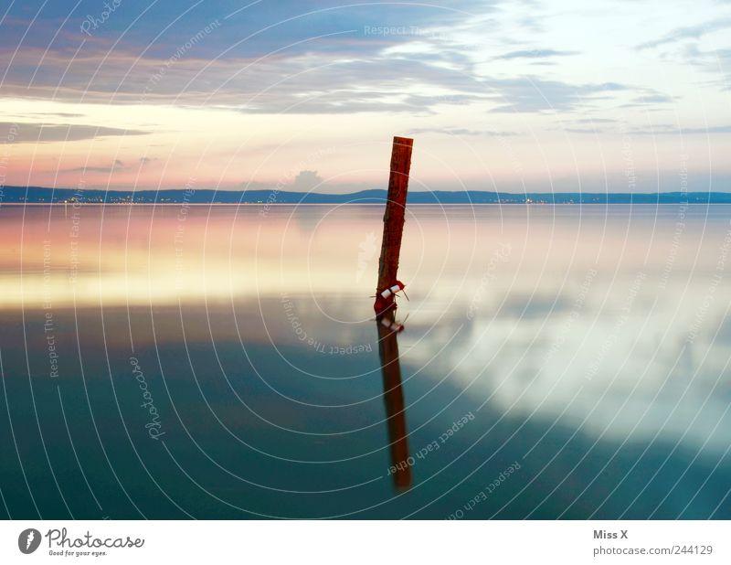 Mein BESTES BILD 2011 Wasser Meer ruhig Einsamkeit Erholung Umwelt Landschaft Stimmung See einfach rein Schönes Wetter Meditation Anlegestelle Glätte Morgendämmerung