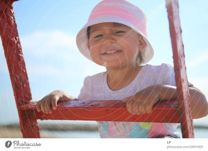 Kind Mensch Ferien & Urlaub & Reisen schön Freude Mädchen Erwachsene Lifestyle Leben Gefühle Familie & Verwandtschaft Stil Glück Stimmung Zufriedenheit Kindheit