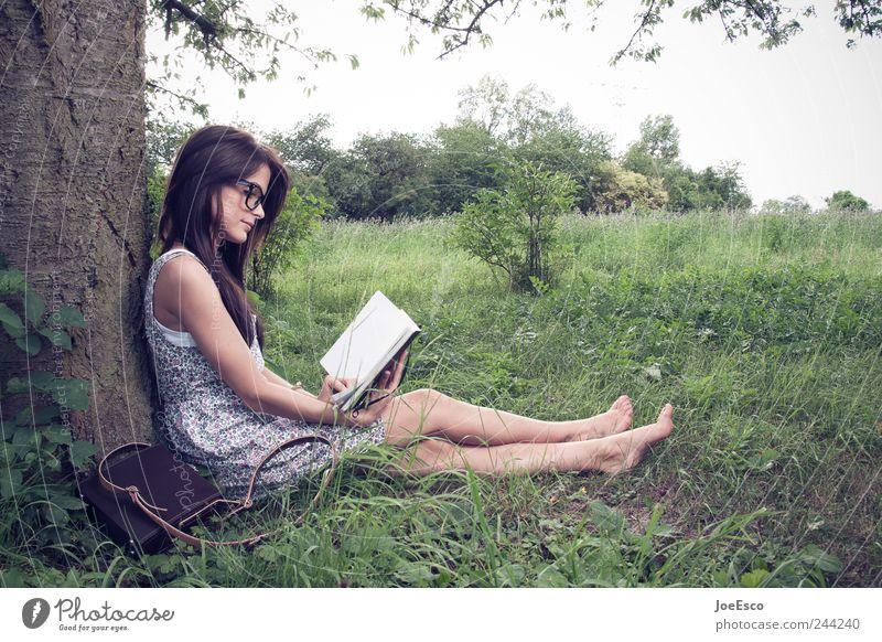 #244240 Frau Himmel Natur schön Baum Pflanze ruhig Erwachsene Erholung Freiheit Landschaft Gras Garten Zufriedenheit Freizeit & Hobby Buch
