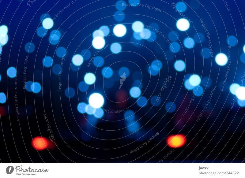 Lichtspielt blau rot schwarz Stimmung Kunst Show fantastisch Konzert Bühne Veranstaltung Feste & Feiern Muster Open Air