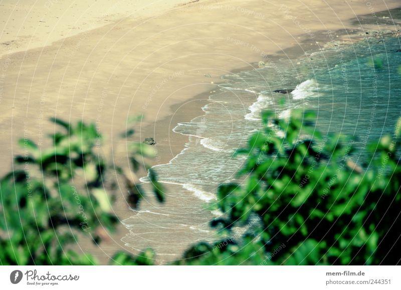 wie sand am weiß Meer Ferien & Urlaub & Reisen Einsamkeit leer Tourist Thailand Unbewohnt unberührt Traumstrand