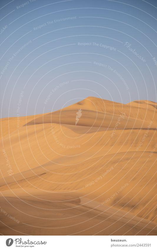 sand. Ferien & Urlaub & Reisen Tourismus Ausflug Abenteuer Ferne Freiheit Safari Expedition Sommer Umwelt Natur Landschaft Urelemente Sand Himmel Klima