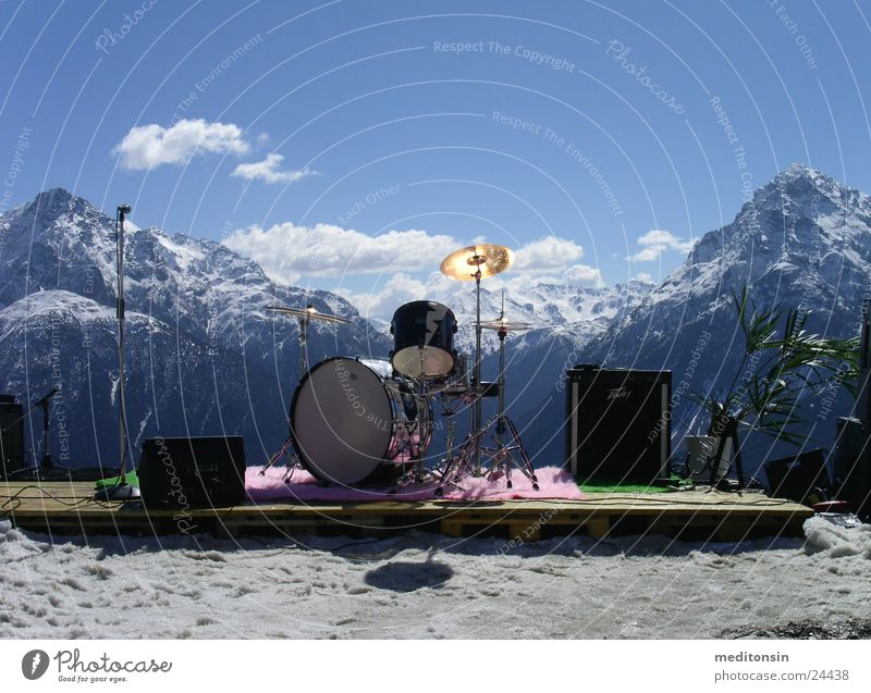 almorchester Einsamkeit Berge u. Gebirge Freizeit & Hobby Alpen Schnur Musikinstrument Schlagzeug Orchester