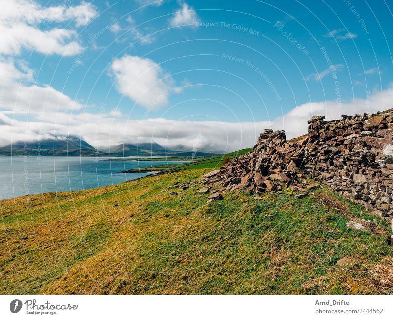 Irland - Brandon Point Ferien & Urlaub & Reisen Ausflug Ferne Freiheit Sommer Sommerurlaub Wellen Berge u. Gebirge Natur Landschaft Himmel Wolken Horizont