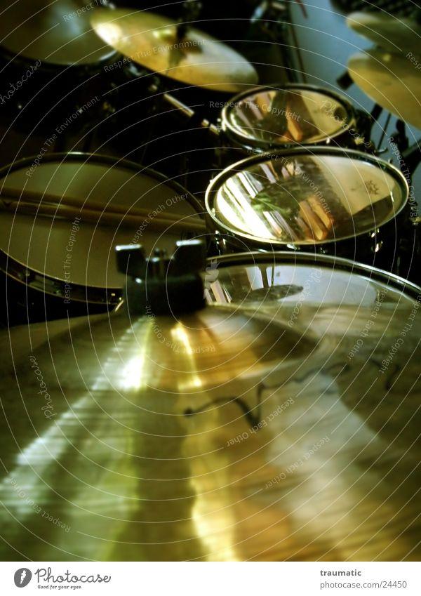 Drrrums Musik gold Dinge Schlagzeug Becken Trommel Tonstudio Snare