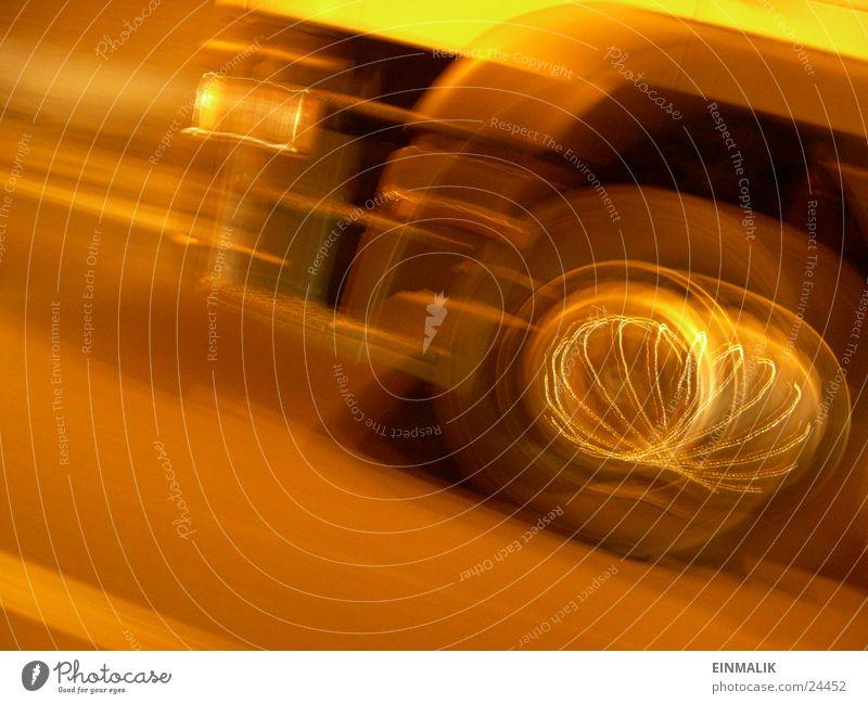 Überholt Straße Bewegung Lastwagen Autobahn Tunnel Felge