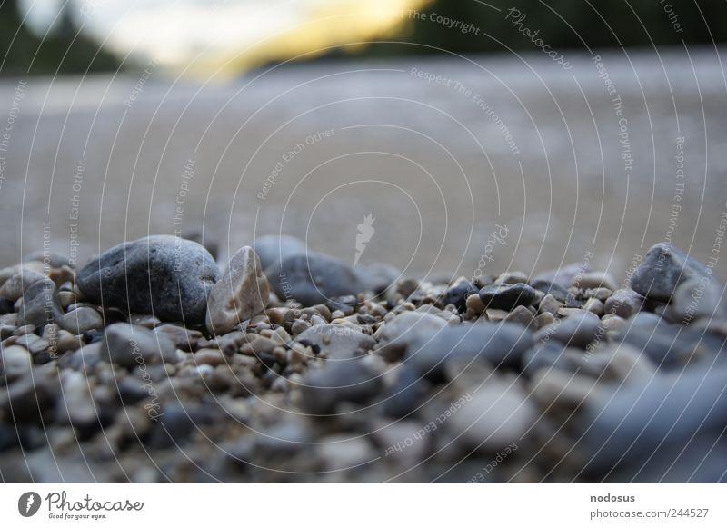 Kies Berge u. Gebirge Alpen Flussufer Meer Bach Stein ruhig Kieselsteine Hintergrundbild Sedimentologie Tiefenschärfe Geologie Isar Österreicher Mineralien