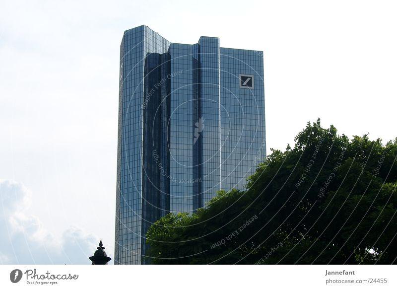 Bankansichten Haus Architektur Hochhaus Skyline Frankfurt am Main