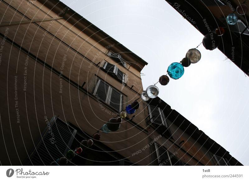 balls of glas schön Stadt Wand Fenster Mauer Gebäude Glas elegant Fassade geschlossen einfach leuchten Bauwerk Italien Gesellschaft (Soziologie) hängen