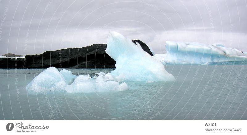 Gletschersee 07 Natur Wasser Eis Wasserfahrzeug Kraft Europa Energiewirtschaft Island Umweltschutz Eisberg Nationalpark unberührt Gebirgssee