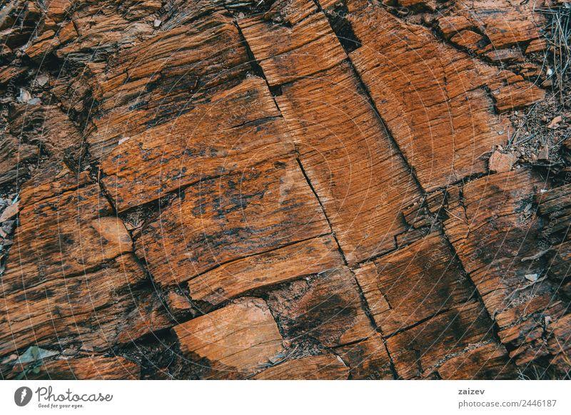Glatte braune Steinstruktur Design Tapete Umwelt Natur Sand Hügel Felsen Beton Rust alt Bewegung dunkel natürlich stark gelb schwarz Wand Material Hintergrund