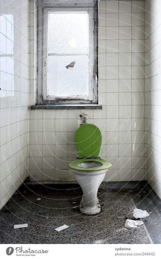 Große Geschäfte ruhig Einsamkeit Leben Wand Stil Fenster Mauer Raum Zeit Lifestyle ästhetisch Bad Vergänglichkeit Häusliches Leben einzigartig Fliesen u. Kacheln