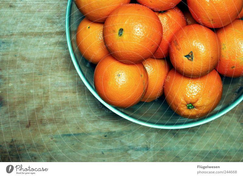Orangerie Lebensmittel Frucht orange Ernährung Orange Tisch süß lecker Frühstück Schalen & Schüsseln Mittagessen Salatbeilage Durst Salat Erfrischungsgetränk Durstlöscher