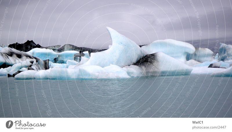 Gletschersee 06 Natur Wasser Eis Wasserfahrzeug Kraft Europa Energiewirtschaft Island Umweltschutz Eisberg Nationalpark unberührt Gebirgssee