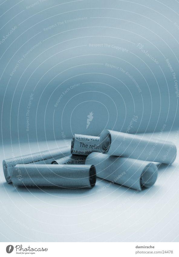 Lose Papier Duplex Zeitung Zeitschrift losgelöst Buisness