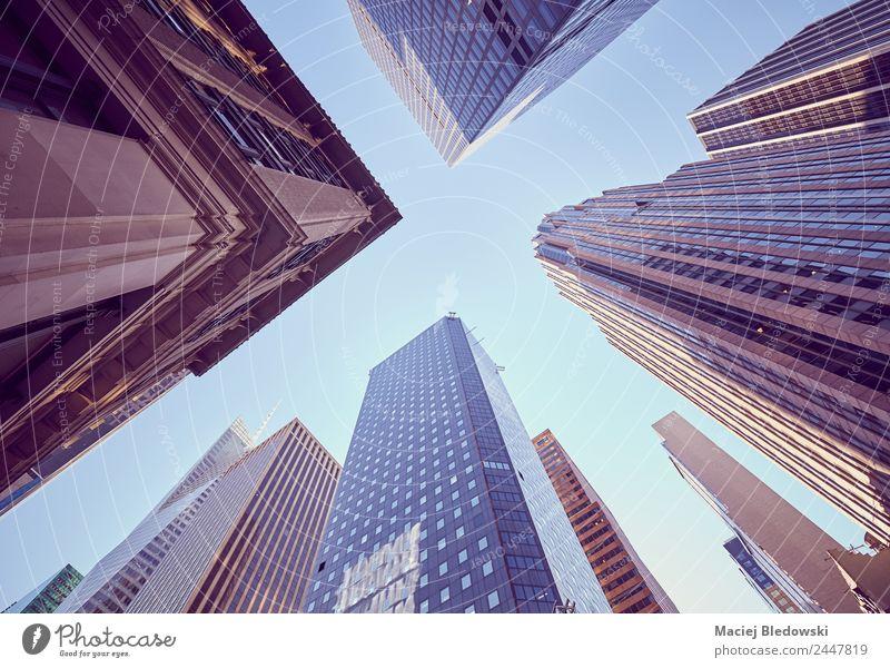 Himmel Architektur Gebäude Business Arbeit & Erwerbstätigkeit Häusliches Leben Büro modern Hochhaus elegant Erfolg USA Sitzung Wirtschaft Unternehmen reich