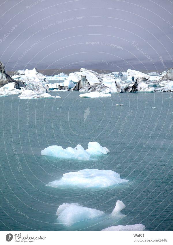 Gletschersee 04 Natur Wasser Eis Wasserfahrzeug Kraft Europa Energiewirtschaft Island Umweltschutz Eisberg Nationalpark unberührt Gebirgssee