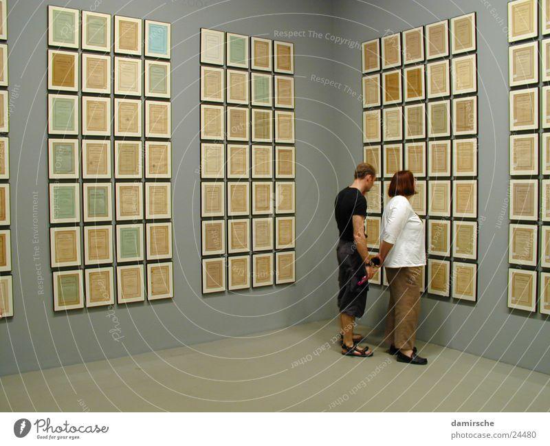 Galerie Mensch Kunst Bild Ausstellung Empore