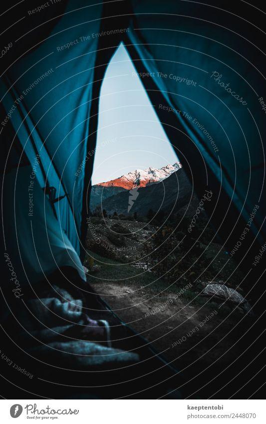 Camping Im Himalaya Freizeit & Hobby Ferien & Urlaub & Reisen Tourismus Ausflug Abenteuer Freiheit Safari Expedition Fahrradtour Berge u. Gebirge wandern Natur