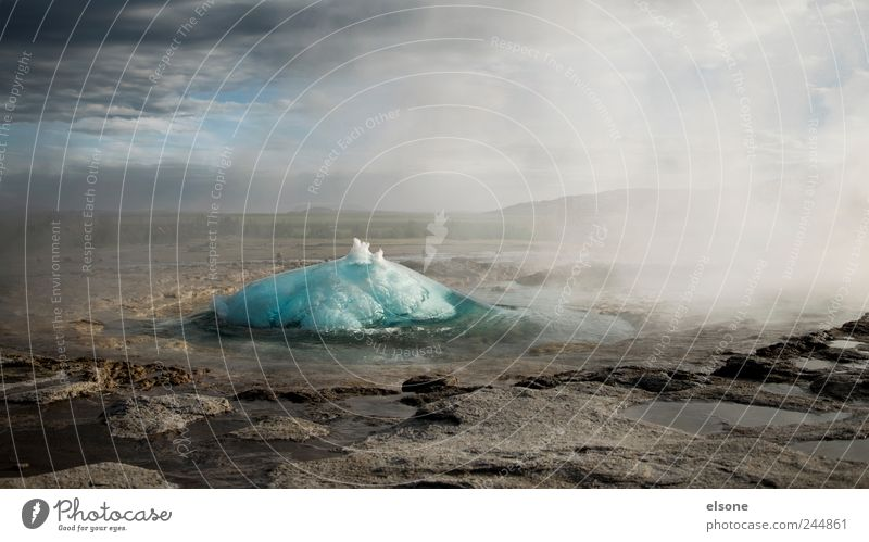geysa Natur Ferien & Urlaub & Reisen Pflanze Wasser Landschaft Tier Berge u. Gebirge Wärme Felsen Nebel Wellen Erde wandern Wassertropfen bedrohlich Urelemente