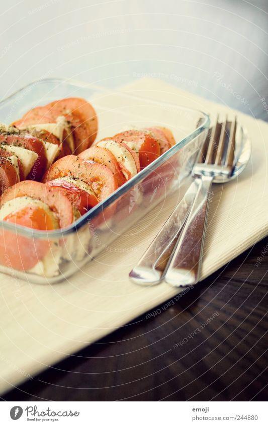 leichtes Abendessen Ernährung Gemüse lecker Abendessen Tomate Diät Mittagessen Schalen & Schüsseln Salatbeilage Salat Käse Besteck Gesunde Ernährung Vegetarische Ernährung Milcherzeugnisse Italienische Küche