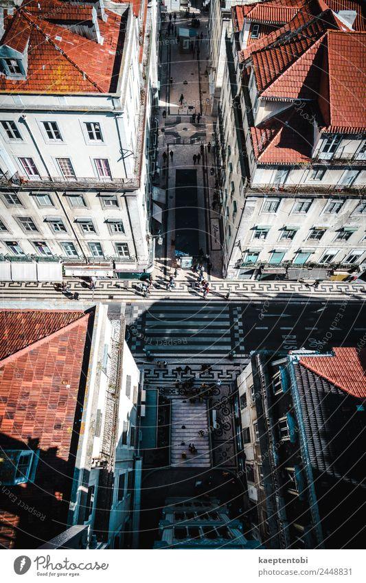 Straßen von Lissabon kaufen Freizeit & Hobby Ferien & Urlaub & Reisen Tourismus Ausflug Sightseeing Städtereise Sommer Sonne Portugal Europa Kleinstadt Stadt