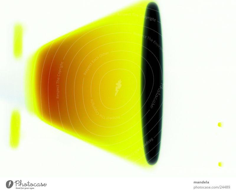 Hot Propulsion Fehlfarbe Lampe abstrakt Dinge Düsenflugzeug propulsion halogen solarize