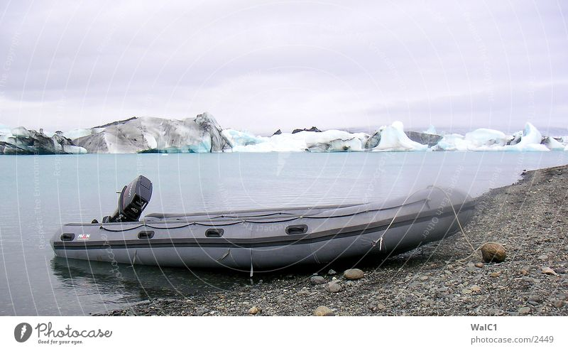 Gletschersee 05 Natur Wasser Eis Wasserfahrzeug Kraft Europa Energiewirtschaft Island Umweltschutz Eisberg Nationalpark unberührt Gebirgssee Gletscher Vatnajökull