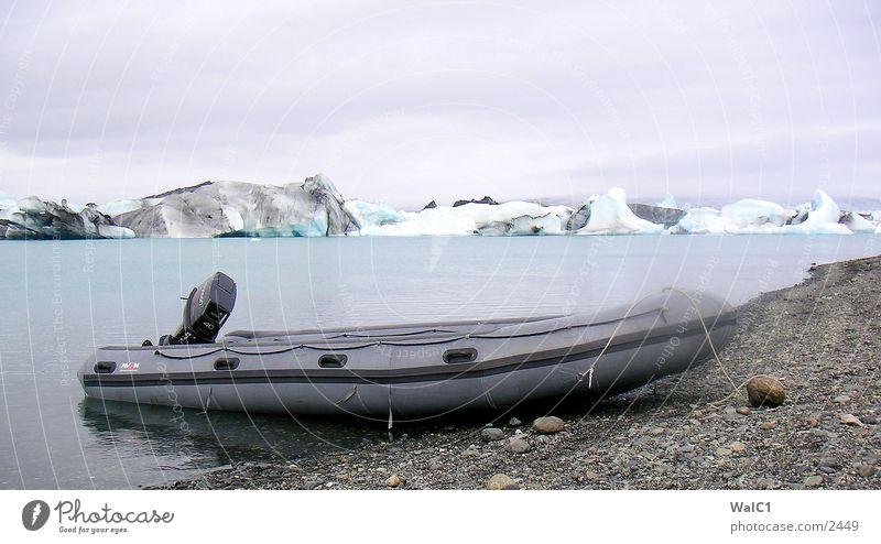Gletschersee 05 Natur Wasser Eis Wasserfahrzeug Kraft Europa Energiewirtschaft Island Umweltschutz Eisberg Nationalpark unberührt Gebirgssee