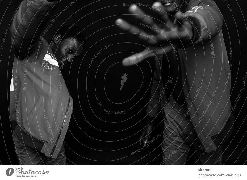 tanzender afrikanischer Typ Lifestyle Freizeit & Hobby Nachtleben Entertainment Party Sport Fitness Sport-Training Arbeit & Erwerbstätigkeit Beruf maskulin