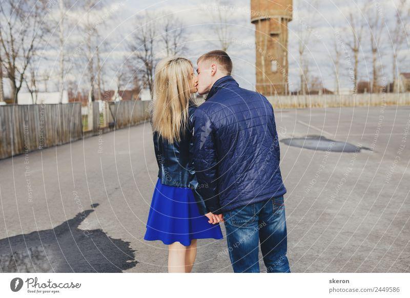 Liebespaare Spaziergänge im Park Lifestyle Freizeit & Hobby Spielen Ferien & Urlaub & Reisen Ausflug Abenteuer ausgehen Valentinstag Junge Frau Jugendliche