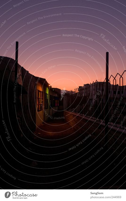 Dahab grün blau rot Sommer Haus schwarz Einsamkeit Wege & Pfade rosa Wohnung Romantik violett Dorf Gasse Ägypten
