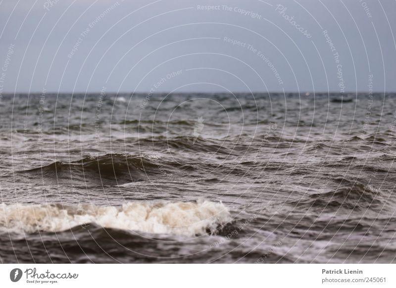 Wellenbad Himmel Natur Wasser Ferien & Urlaub & Reisen Meer Wolken Ferne Freiheit Landschaft Umwelt Küste Stimmung Wetter Wellen Wind Horizont