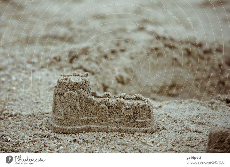Château Turpault (nachgebaut) Ferien & Urlaub & Reisen Tourismus Ferne Freiheit Sommer Sommerurlaub Strand Wohnung Haus Leben Sandburg Spielen Freude