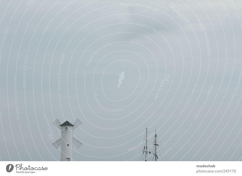 Wind. Still. Leben. Himmel Ferne kalt Gebäude Architektur Wetter Nebel elegant Sicherheit ästhetisch trist Romantik Frieden Schutz Vertrauen Idylle