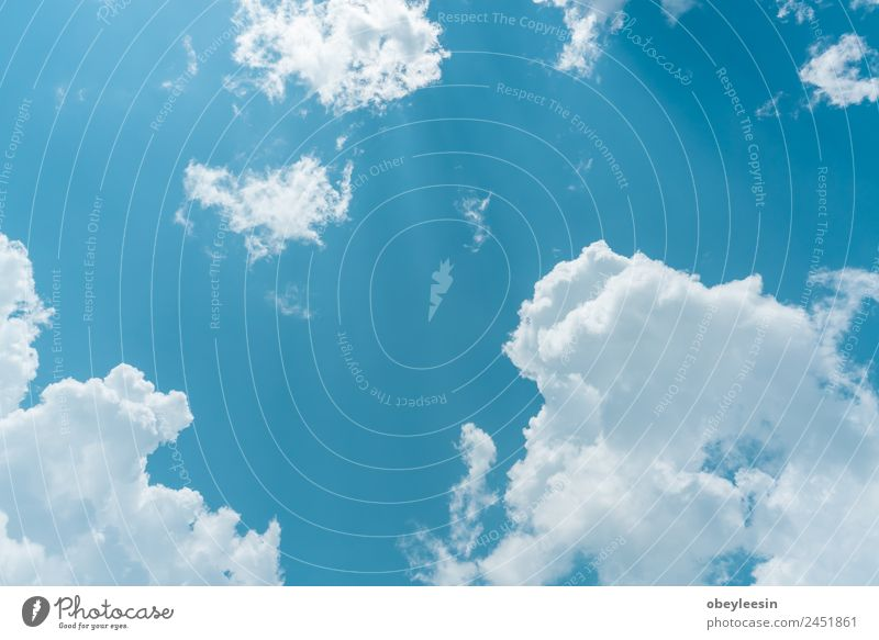 schöner Tag mit blauem Himmel und schöner Wolke Leben Erholung Ferien & Urlaub & Reisen Abenteuer Freiheit Natur Erde Wolken Horizont Wetter Bewegung fliegen