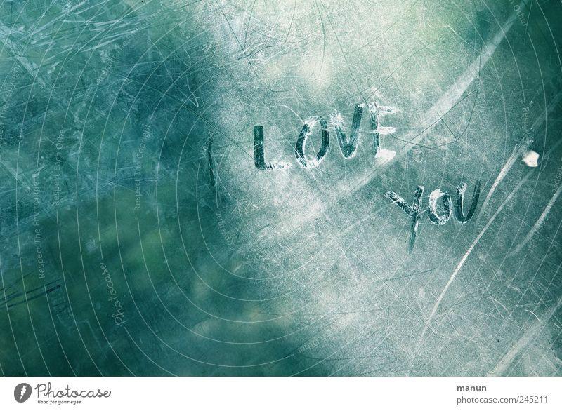 Love you Flirten Valentinstag Zeichen Schriftzeichen Graffiti Linie Liebeserklärung authentisch einfach Fröhlichkeit Originalität positiv Gefühle Lebensfreude