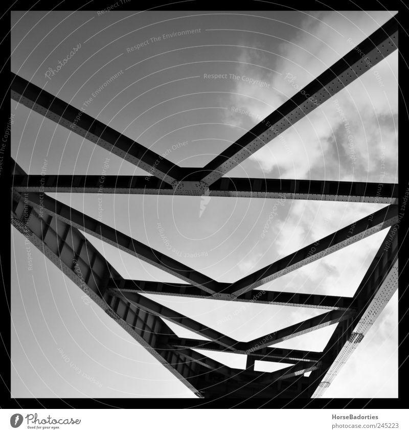 Förderturm Bochum Deutschland Industrieanlage Sehenswürdigkeit Denkmal Ordnung Wandel & Veränderung Industriefotografie Museum Schwarzweißfoto Außenaufnahme