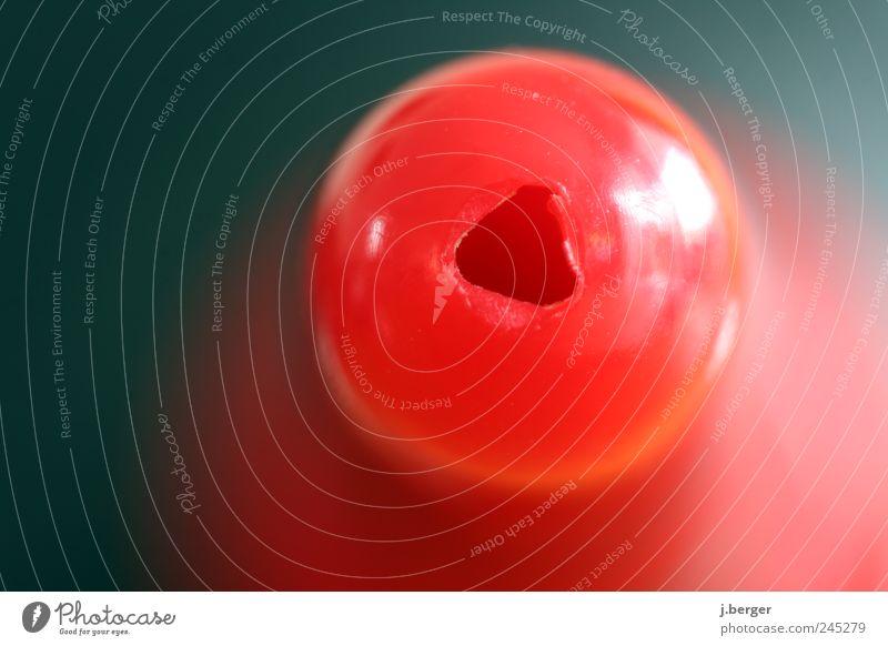 blas instrument blau rot glänzend außergewöhnlich rund Reinigen Kunststoff eckig Detailaufnahme