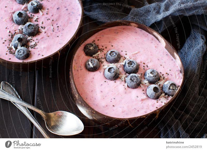Sommer weiß rot grau Textfreiraum rosa Frucht Ernährung frisch Frühstück Dessert Beeren Schalen & Schüsseln Diät Vegetarische Ernährung Vitamin